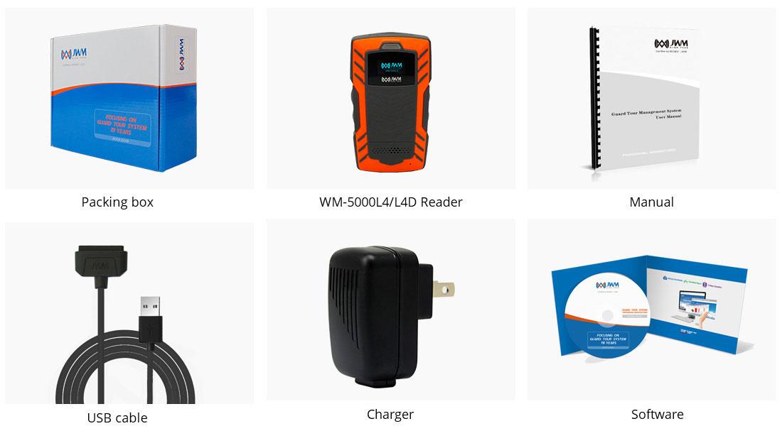 WM5000L4D-Guard-Tour-System-Package