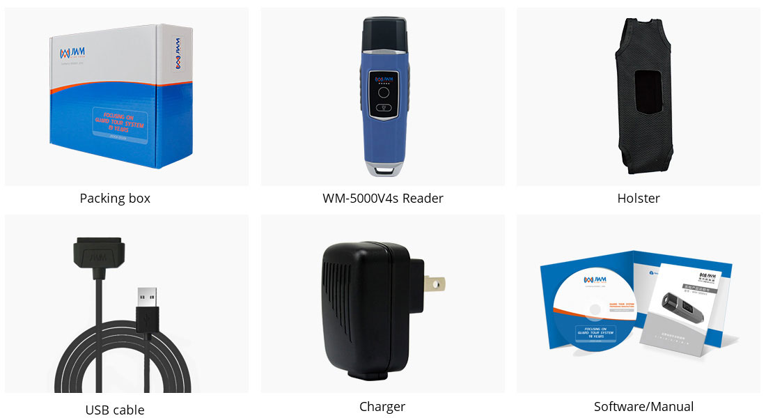 WM5000V4s Guard Tour System Package