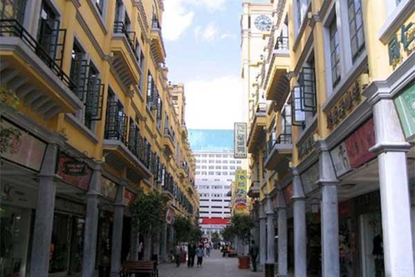 Guard Tour System Kunming Tongren Pedestrian Street