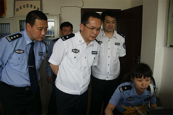 Traffic-Police-Detachment-of-Jining-Public-Security-Bureau-Patrol